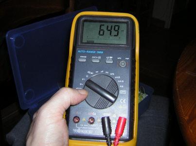 Electronique bases mesures et controles for Savoir se servir d un multimetre