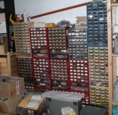Electronique Bases Rangement Composants